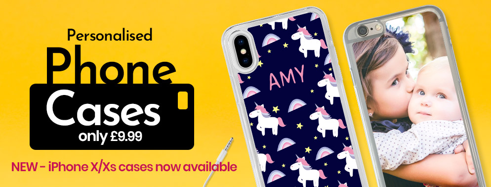 Phone cases only £9.99