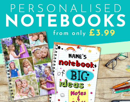 Personalised Notebooks