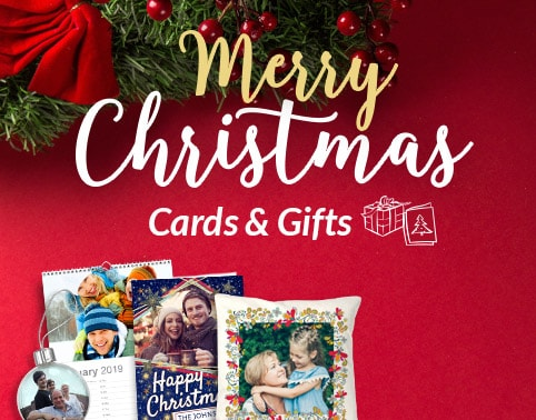 Personalised Christmas Cards - From £1.79