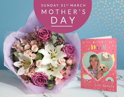 Personalised Mother's Day Cards & Gifts - From £1.99