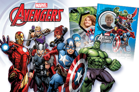 Marvel Avengers greeting cards