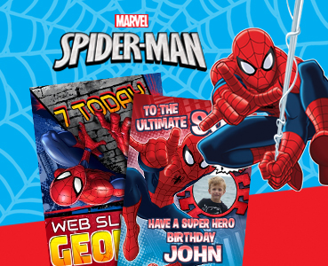 Spiderman greeting cards