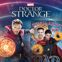 Marvel Doctor Strange birthday cards