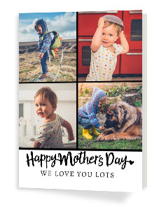 Photo Upload Mother's Day Cards