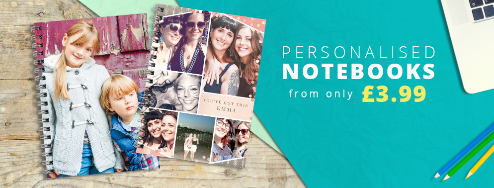 All Personalised Notebooks