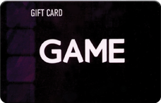 Game Gift Card