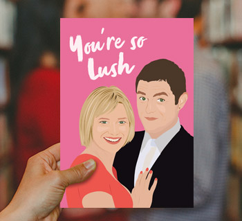 Television Spoof Cards