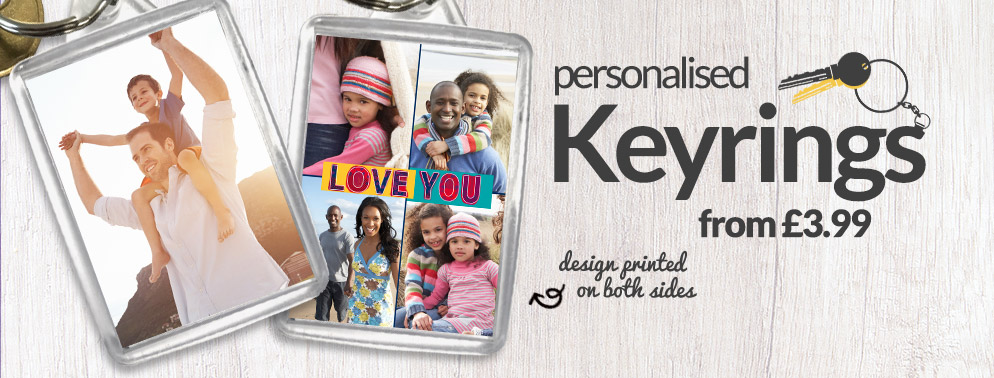 All Personalised Keyrings