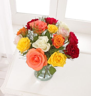 Luxurious Mixed Roses